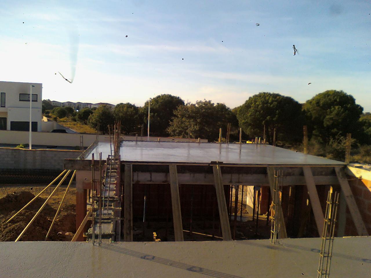 Coulage plancher étage