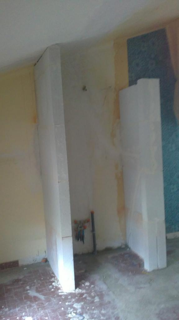Création salle de bain ouverte sur chambre étage