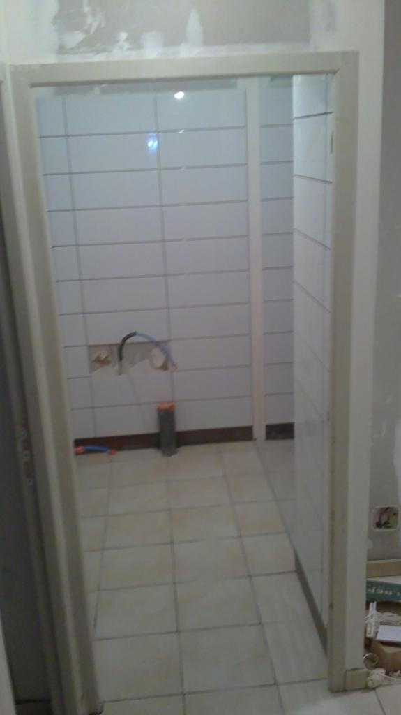 Création salle de bain/WC au garage
