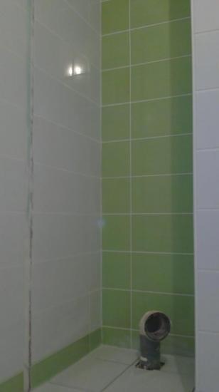 Réfection totale salle de bain étage