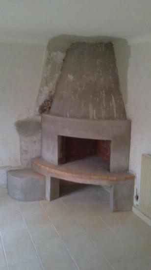 Création cheminée sur plan clients