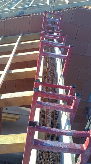 ferraillage et coffrage pignons de toit
