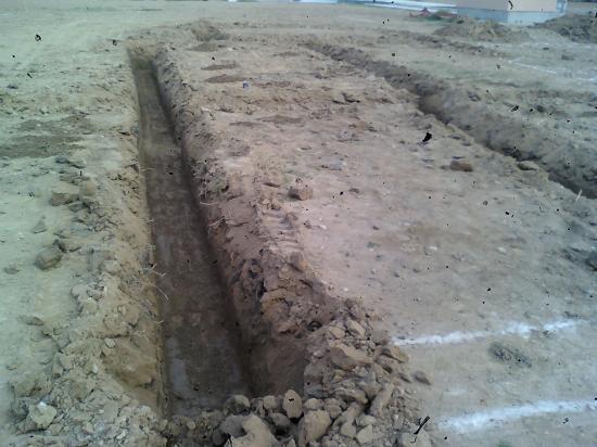 fouilles fondations