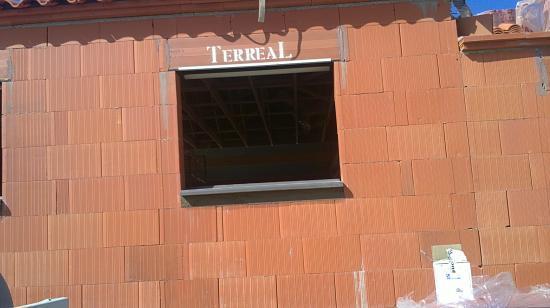 Vue appuis de fenêtre monolithe