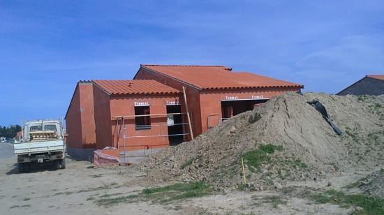 Vue façade sud-oues