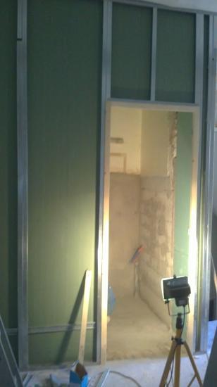 extension salle de bain étage
