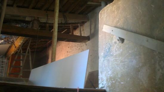 Aménagement combles environ 45 m²
