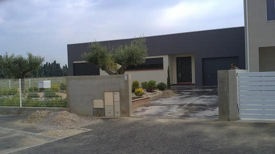 villa d'architecte réalisée à ELNE pour Mr et Mme LOPEZ J-C