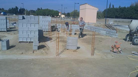 réalisation vide-sanitaire