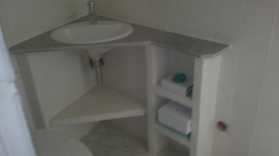 plan du lave-mains salle de bains étage