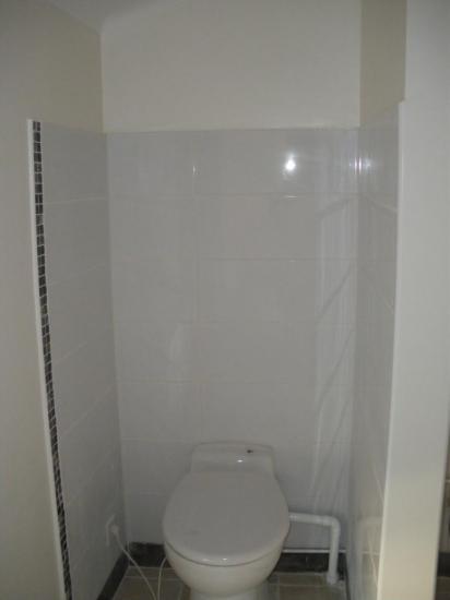 Salle de bain/WC ouvert sur chambre
