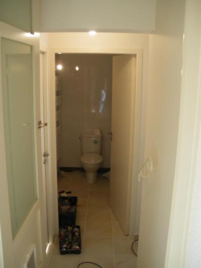 Vue salle de bain/WC garage